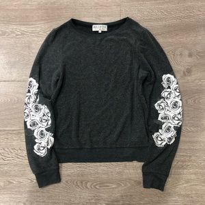 Rare Wildfox Roses Sweatshirt